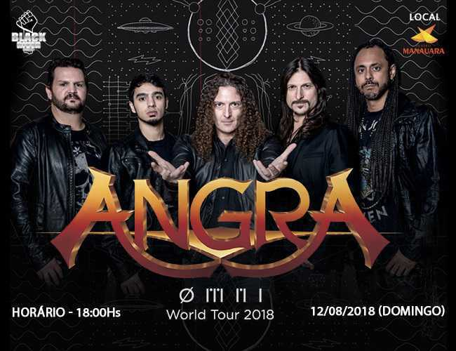 Angra World Tour 2018